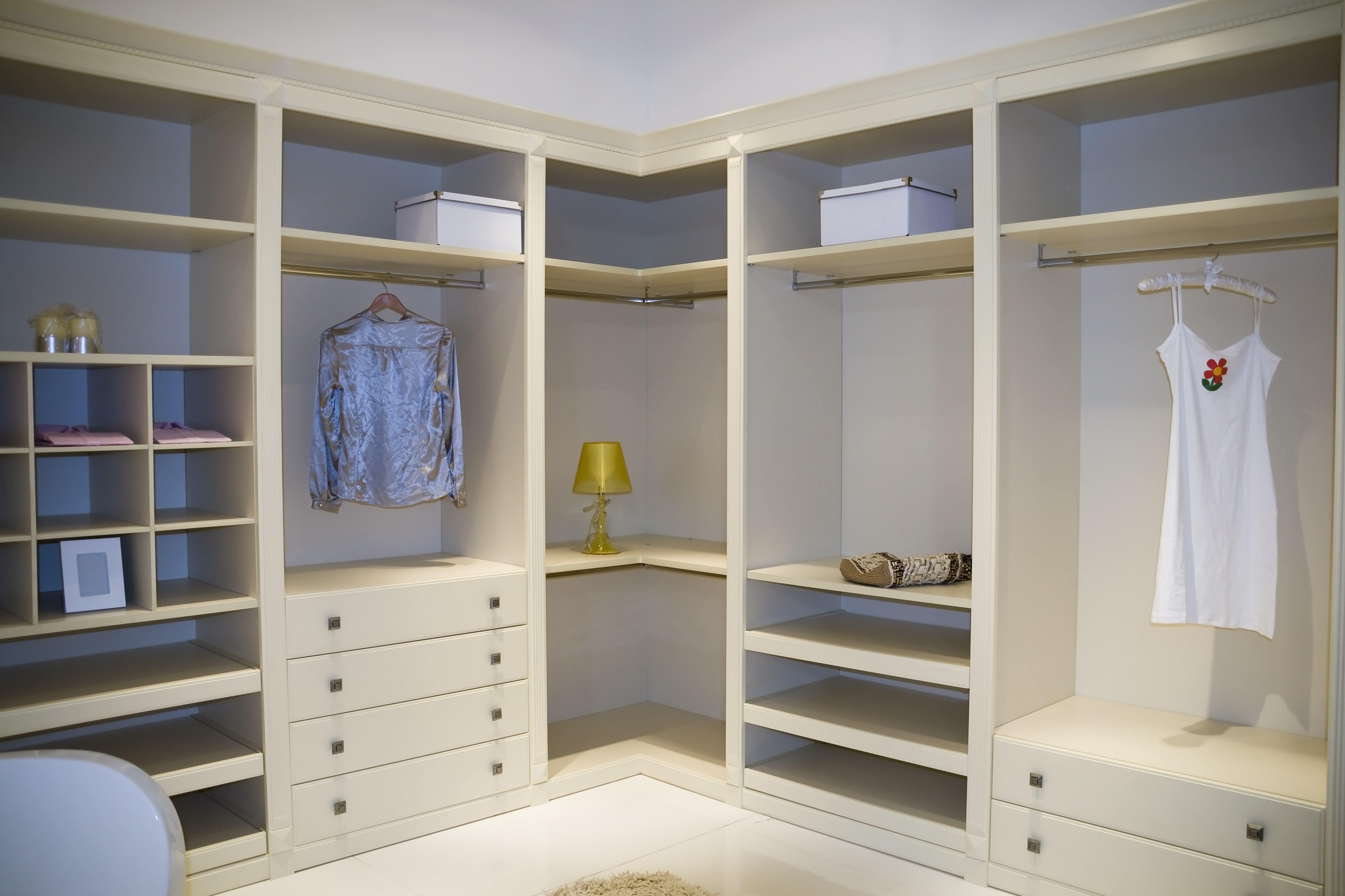 Гардеробные комнаты на заказ самара.