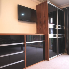 Black High Gloss with matching Units