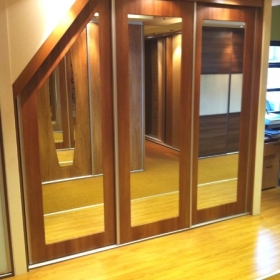 Sloping and Angled Doors made to measure