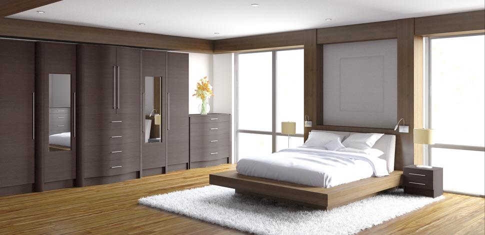 Fitted Bedroom Furniture & Sliding Wardrobes By Crafted